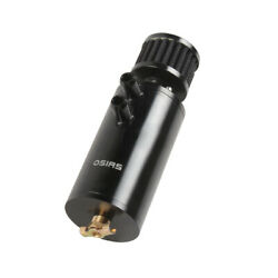 New Black Aluminum Oil Catch Can Reservoir Tank With Breather Filter Baffled