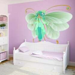 Butterfly Myth Cartoon Full Color Wall Decal Sticker K-650 Multi Large