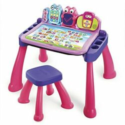 Vtech Touch And Learn Activity Desk Deluxe, Pink Pink standard Packaging