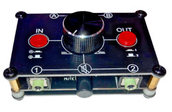 Nobsound Little Bear Mc22 Mini 2-in-2-out 3.5mm Stereo Audio Switcher Passive
