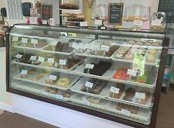 Used Vintage Commercial 4 Shelf, 6 Ft. Lighted/refrigerated Bakery Display Case