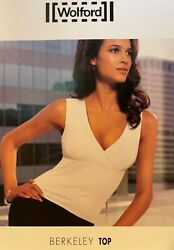 Wolford Berkeley Sleeveless Tank Top Color White Size Small 56110 - 25