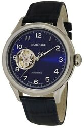 Baroque Automatic Winding Made In Japan Eternita Blue Ba3001s-03nv With More
