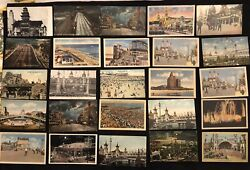 50 Rare Vintage Coney Island New York Postcards Early 1900s- Great Variety