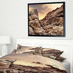 Designart And039scenic Red Rock Canyon In Nevadaand039 Landscape Small
