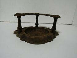 Vintage Ornawood Pipe Stand And Ashtray