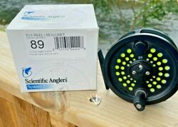 Scientific Anglers System 2 8/9 Fly Reel With Hardy Wf8 Saltwater Fly Line