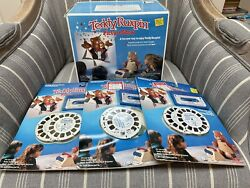 Vtgteddy Ruxpin Picture Show Projector New Sealed + 3 Cassetes And Reels Freeship