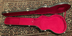 🔥vintage Original 1970's Gibson Eb Hard Shell Bass Case Long Scale Red Interior