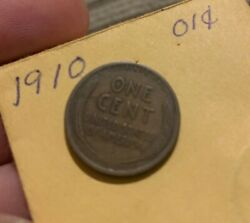 1910 Wheat Penny , A Hard Find