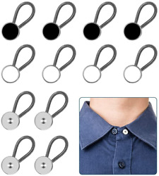 12pcs, Collar Extenders, Comfy And Premium Invisible Neck Extender, Adds 1 In Inst
