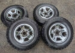 17 Chrome Rims And Tires