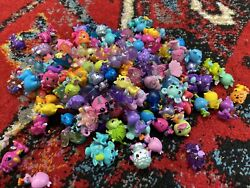 Hatchimals Colleggtibles Lot Of 155 Fuzzy Rares Pink Purple Blue Wings