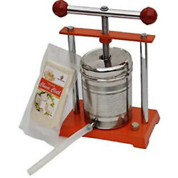 Tincture Press 1kgs With Cheese Cloth And Silicon Food Grade Pipe
