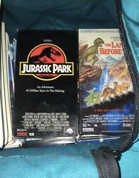 Vhs Tape Jurassic Park And The Land Before Time Vintage Vhs Tape