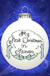 Memorial My First Christmas In Heaven Boy Male Ornament Made In The Usa