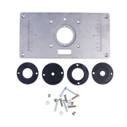 Router Table Insert Plate Set For Trimmer Woodworking Bench Makita 700c