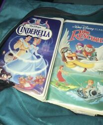 Vhs Tapes Cinderella And The Rescuers