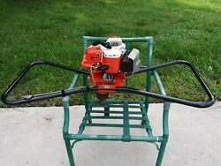 Stihl 4308 Two Man Post Hole Earth Auger Fence 2 Stroke Vintage Made Ingermany