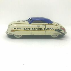 Driver Training Car Windup Toy Vintage Learn To Drive
