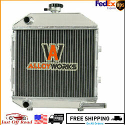 Sba310100211 Aluminum Radiator For Ford 1300 Tractor With Cap
