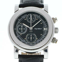 There Is Negotiation Rare 1980 Keywest Key West Automatic Chronograph With