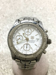 Tagheuer Self-winding Watch/analog/stainless/wht/slv