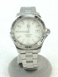 Tagheuer Aquaracer Calibre Self-winding Watch Analog Stainless Steel