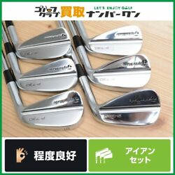 Tour Products Taylormade P730 Forged Iron Set Of 6 Project 6.5 Flex-x