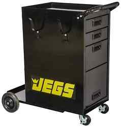 Jegs 81641 Welding Cart W/drawers 286 Lb. Capacity