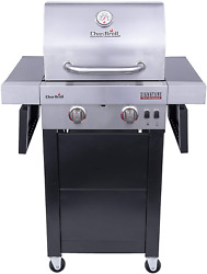 Char-broil 463632320 Signature Tru-infrared 2-burner Cart Style Gas Grill, Stain