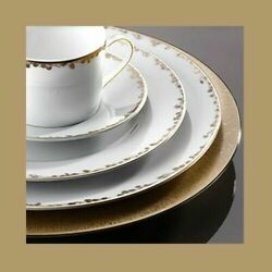 Bernardaud Porcelain And039capucineand039 5-piece Place Setting Factory New