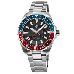 New Tag Heuer Aquaracer 300m Automatic Gmt Pepsi Menand039s Watch Way201f.ba0927