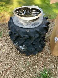 18in Fuel Rims With 33 Bkt Tires Can Am Pattern Set