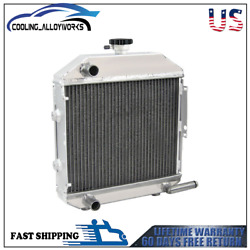 3row Aluminum Radiator For Ford Holland Tractor 1300 Sba310100211 1942smp130486