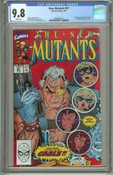New Mutants 87 Cgc 9.8 First Cable 1990