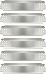 Grill Parts Heat Plates For Nexgrill 6 Burner Stainless Steel Heat Shield Tent