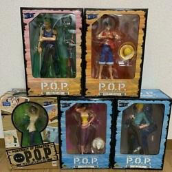 One Piece Pop Series Set Of Mega House Figure F/s From Jp