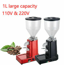 2500rpm Electric Home Commercial 1l Coffee Bean Grinder Grind Burr Mill Espresso