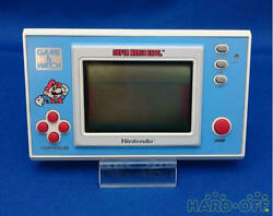 Nintendo Game Watch Super Mario Bros Ym-105 22183311 F/s From Jp