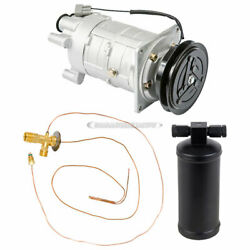 For Chevy Suburban Pickup And Gmc Jimmy Ac Compressor W/ A/c Drier And Exp Dac