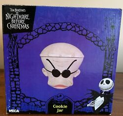 New And Rare The Nightmare Before Christmas Dr. Finkelstein Cookie Jar 2003 Neca
