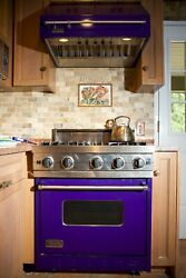 Convection And Conduction, 4 Burner, Viking Professional Line Stove 30 Inch