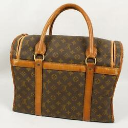 LOUIS VUITTON Dog Cat Carry Bag Carrier Bag Monogram for Small Breeds Used $599.99