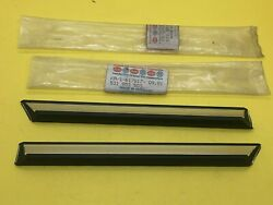 Vw Scirocco Mk1 Front Fender Trims Lh And Rh 531853503 And 531853504 Genuine Nos