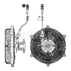 Mahle Radiator Cooling Fan Clutch Cfc 213 000p Genuine Top German Quality
