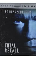 New Total Recall Dvd, 2001, Special Limited Edition arnold Schwarzenegger