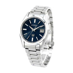 The Citizen Eco Year Difference Seconds Solar Made Mens Wristwatch Aq4080-52l