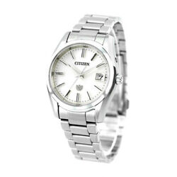 The Citizen Eco Year Difference Seconds Solar Made Mens Wristwatch Aq4080-52a