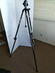 Vintage German Military Spotting Scope Tripod From 1970's With Kaiser Ball Head